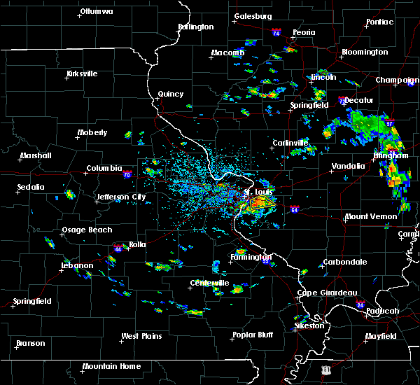 Radar Image for Severe Thunderstorms near Fairmont City, IL at 7/8/2020 3:09 PM CDT