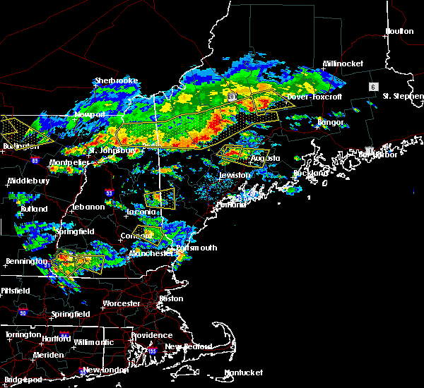 Radar Image for Severe Thunderstorms near Rochester, NH at 7/8/2020 4:48 PM EDT