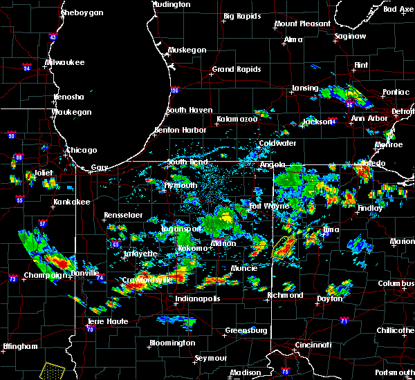 Radar Image for Severe Thunderstorms near Coldwater, OH at 7/8/2020 5:53 PM EDT