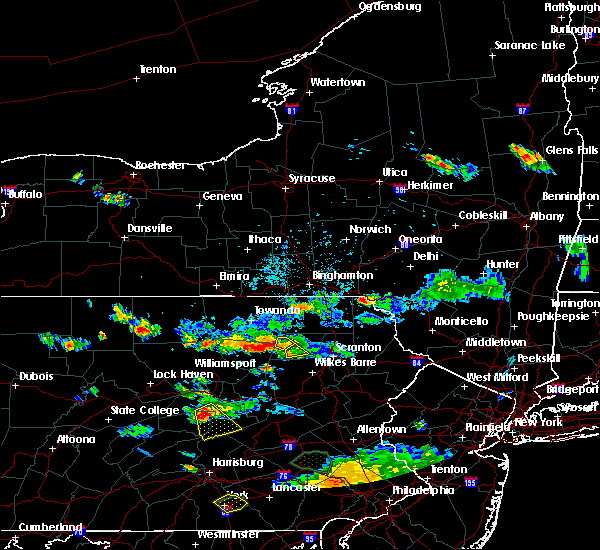 Radar Image for Severe Thunderstorms near Waller, PA at 7/8/2020 6:18 PM EDT