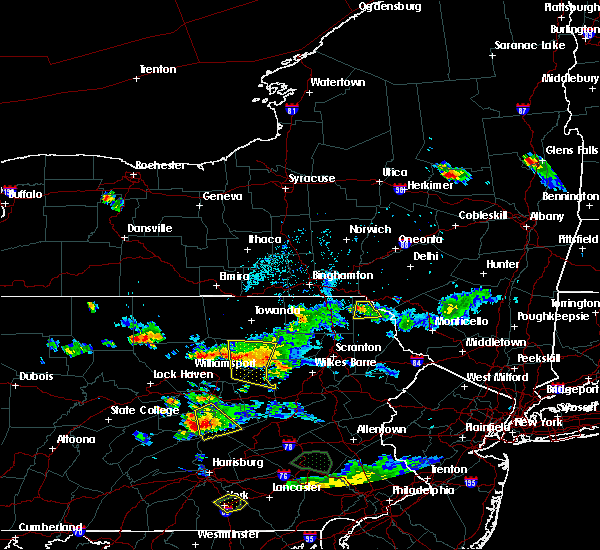 Radar Image for Severe Thunderstorms near Waller, PA at 7/8/2020 6:48 PM EDT