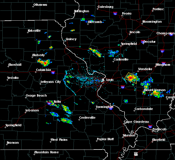 Radar Image for Severe Thunderstorms near Greenville, IL at 7/8/2020 6:48 PM CDT