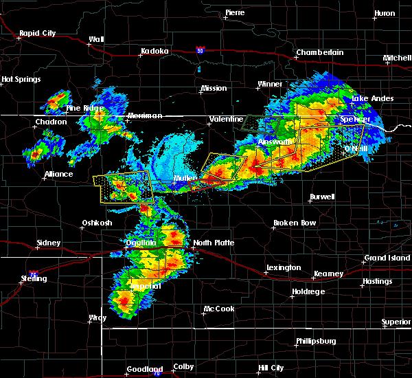 Radar Image for Severe Thunderstorms near Brewster, NE at 7/8/2020 8:29 PM CDT