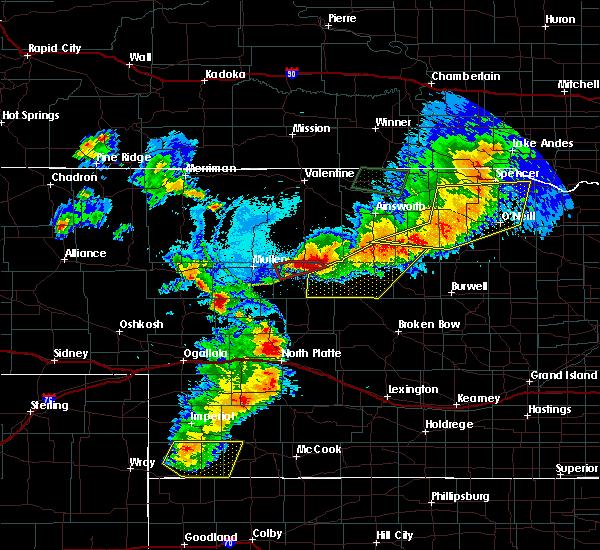 Radar Image for Severe Thunderstorms near Ewing, NE at 7/8/2020 8:41 PM CDT