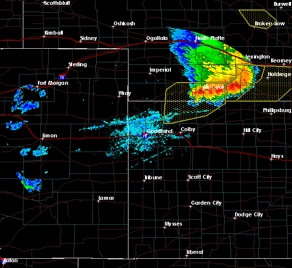 Radar Image for Severe Thunderstorms near Norton, KS at 7/8/2020 10:14 PM CDT