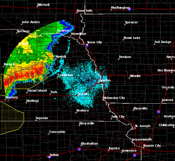 Radar Image for Severe Thunderstorms near Cedar Rapids, NE at 7/8/2020 11:11 PM CDT