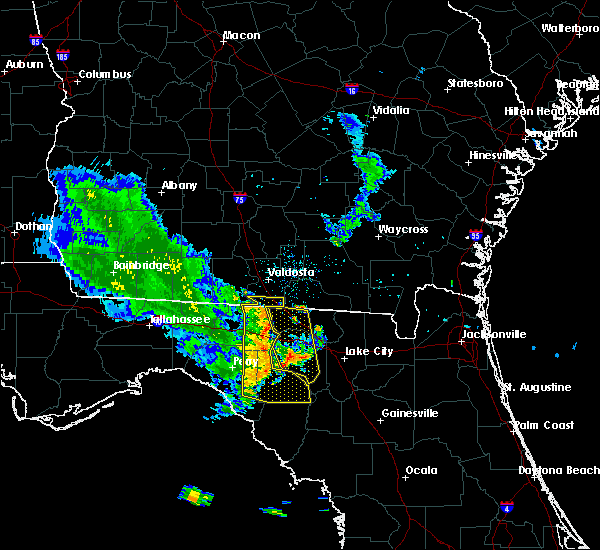 Radar Image for Severe Thunderstorms near Day, FL at 6/30/2015 7:32 PM EDT