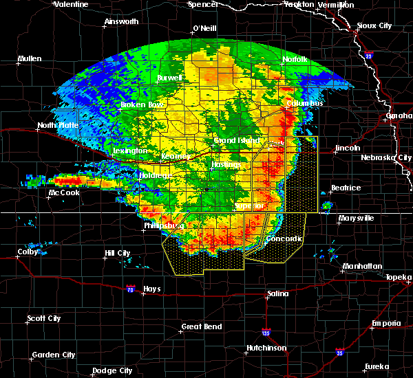 Radar Image for Severe Thunderstorms near Lushton, NE at 7/9/2020 12:32 AM CDT