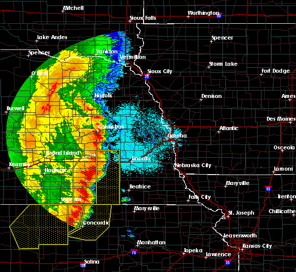 Radar Image for Severe Thunderstorms near Denton, NE at 7/9/2020 12:41 AM CDT