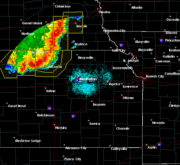 Radar Image for Severe Thunderstorms near Miltonvale, KS at 7/9/2020 12:48 AM CDT