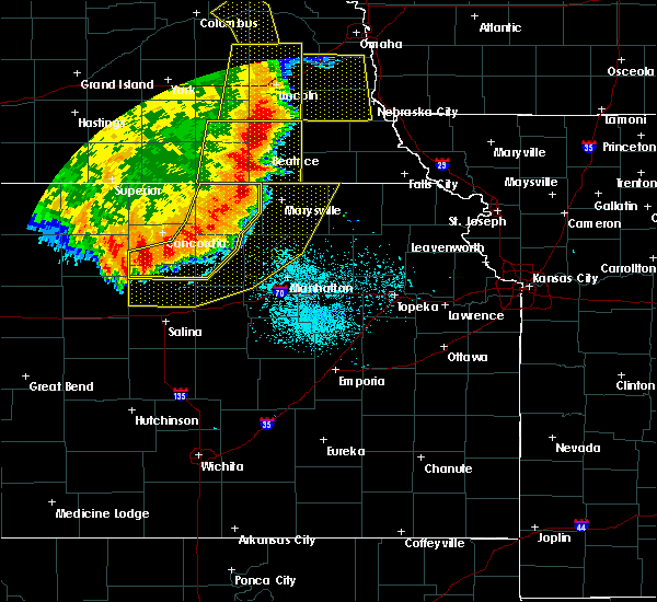 Radar Image for Severe Thunderstorms near Miltonvale, KS at 7/9/2020 1:13 AM CDT
