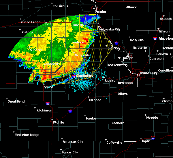 Radar Image for Severe Thunderstorms near Manchester, KS at 7/9/2020 1:59 AM CDT
