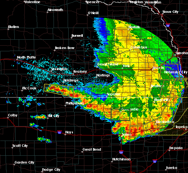 Radar Image for Severe Thunderstorms near Orleans, NE at 7/9/2020 2:20 AM CDT