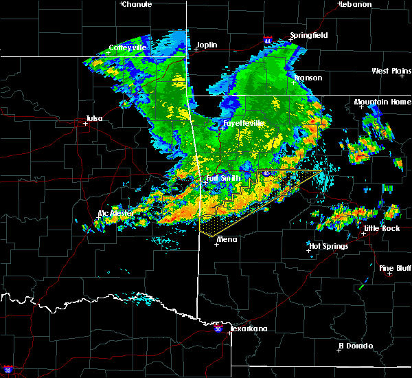 Radar Image for Severe Thunderstorms near Whitesboro, OK at 7/9/2020 12:33 PM CDT