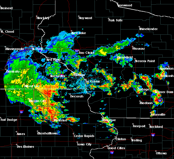 Radar Image for Severe Thunderstorms near Rudd, IA at 7/9/2020 12:58 PM CDT