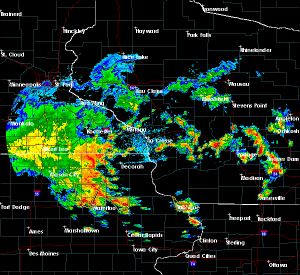 Radar Image for Severe Thunderstorms near Westgate, IA at 7/9/2020 1:21 PM CDT