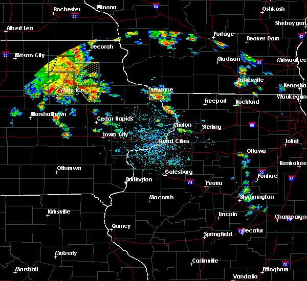 Radar Image for Severe Thunderstorms near Winthrop, IA at 7/9/2020 1:23 PM CDT