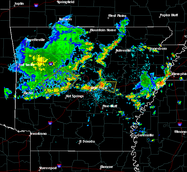 Radar Image for Severe Thunderstorms near Haskell, AR at 7/9/2020 1:42 PM CDT