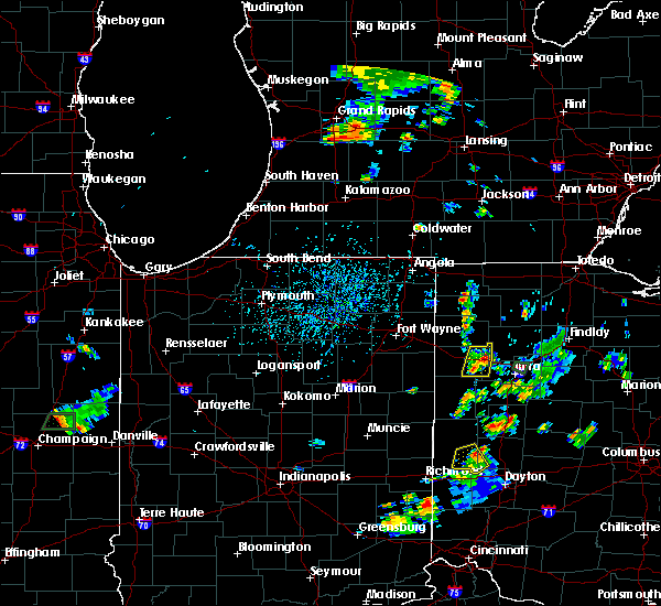 Radar Image for Severe Thunderstorms near Delphos, OH at 7/9/2020 5:37 PM EDT