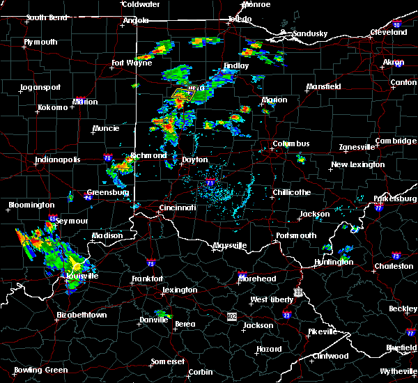 Radar Image for Severe Thunderstorms near Elida, OH at 7/9/2020 6:30 PM EDT