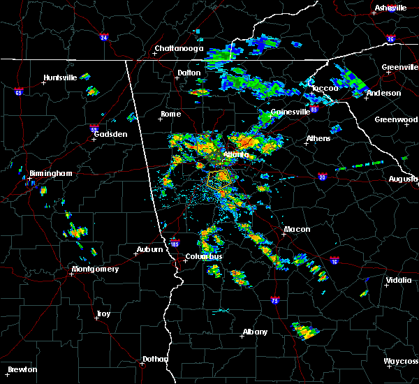 Radar Image for Severe Thunderstorms near Duluth, GA at 7/9/2020 6:59 PM EDT