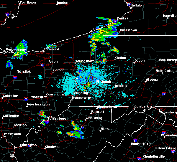 Radar Image for Severe Thunderstorms near Midway, PA at 7/9/2020 10:07 PM EDT