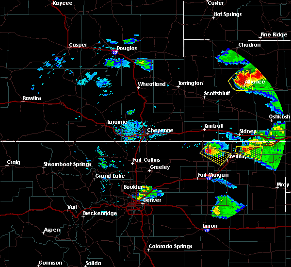 Radar Image for Severe Thunderstorms near Sterling, CO at 7/9/2020 8:14 PM MDT