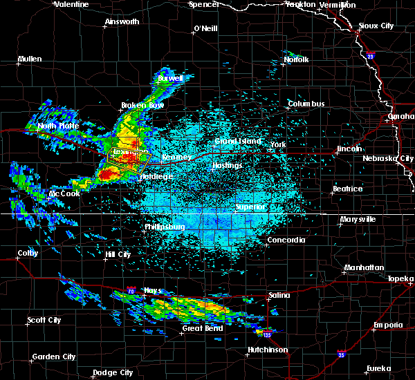 Radar Image for Severe Thunderstorms near Elm Creek, NE at 7/10/2020 2:05 AM CDT