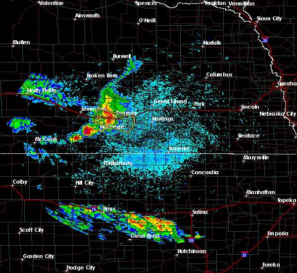 Radar Image for Severe Thunderstorms near Glenwood, NE at 7/10/2020 2:30 AM CDT