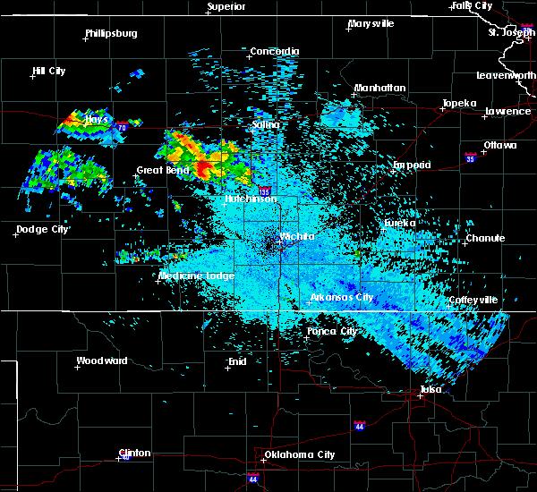 Radar Image for Severe Thunderstorms near Windom, KS at 7/10/2020 3:16 AM CDT