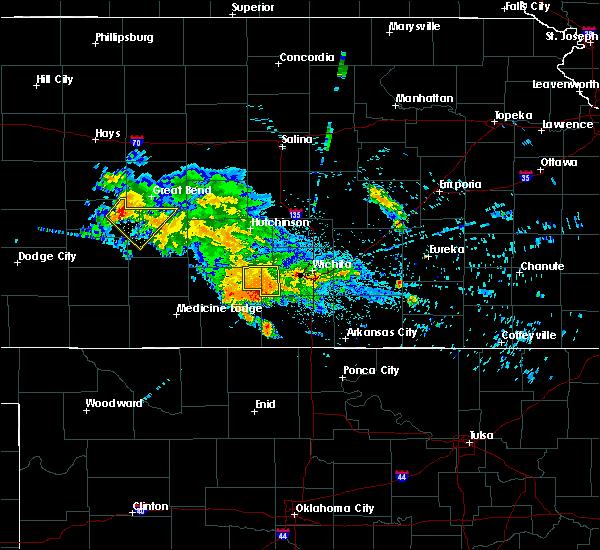 Radar Image for Severe Thunderstorms near Goddard, KS at 7/10/2020 6:11 AM CDT