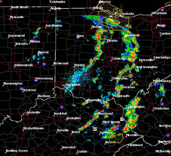 Radar Image for Severe Thunderstorms near Rushville, OH at 7/10/2020 2:30 PM EDT