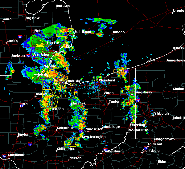 Radar Image for Severe Thunderstorms near Wightmans Grove, OH at 7/10/2020 2:37 PM EDT