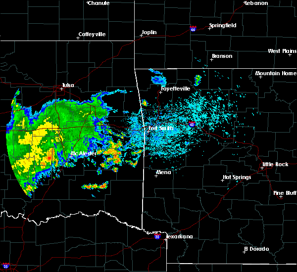 Radar Image for Severe Thunderstorms near Whitesboro, OK at 7/10/2020 1:49 PM CDT
