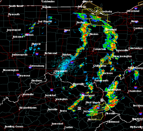 Radar Image for Severe Thunderstorms near Columbus, OH at 7/10/2020 3:08 PM EDT