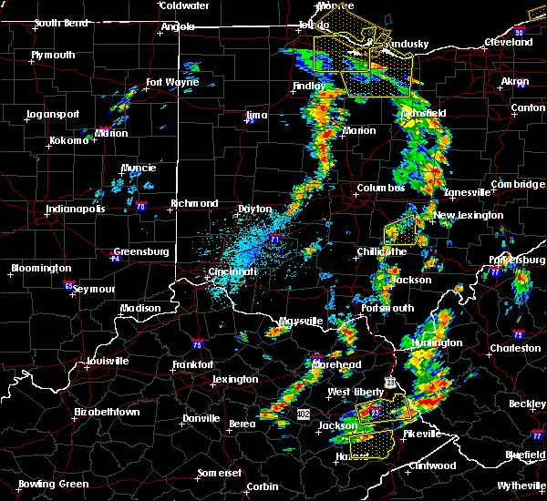 Radar Image for Severe Thunderstorms near Minerva Park, OH at 7/10/2020 3:08 PM EDT