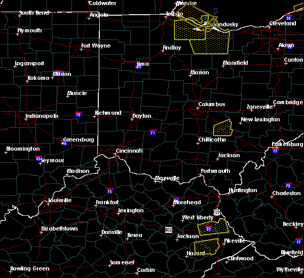 Radar Image for Severe Thunderstorms near Buckeye Lake, OH at 7/10/2020 3:30 PM EDT