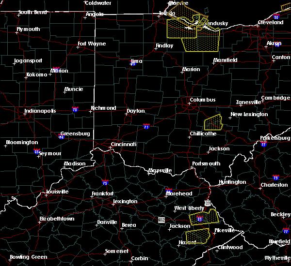 Radar Image for Severe Thunderstorms near Minerva Park, OH at 7/10/2020 3:32 PM EDT
