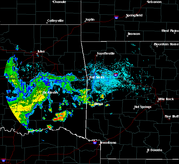 Radar Image for Severe Thunderstorms near Sawyer, OK at 7/10/2020 2:51 PM CDT