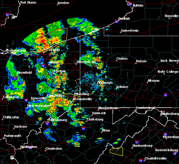 Radar Image for Severe Thunderstorms near Minerva, OH at 7/10/2020 4:41 PM EDT