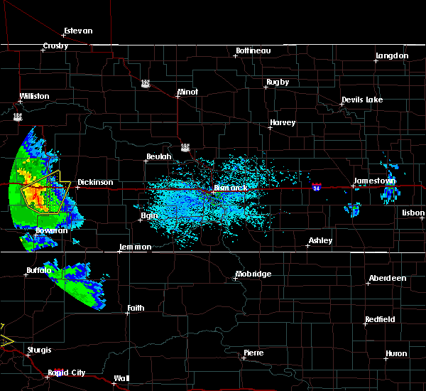 Radar Image for Severe Thunderstorms near South Heart, ND at 7/10/2020 3:09 PM MDT