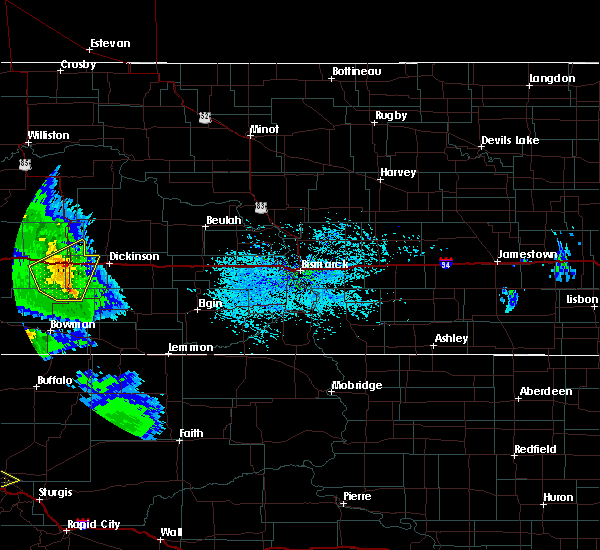 Radar Image for Severe Thunderstorms near Belfield, ND at 7/10/2020 3:23 PM MDT