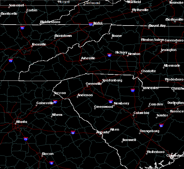 Radar Image for Severe Thunderstorms near Saxon, SC at 7/10/2020 6:00 PM EDT
