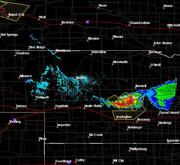 Radar Image for Severe Thunderstorms near Broken Bow, NE at 7/10/2020 5:12 PM CDT