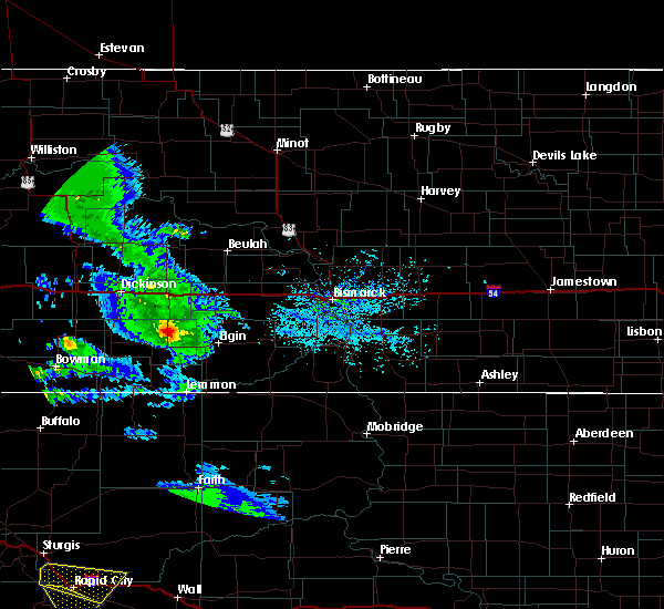 Radar Image for Severe Thunderstorms near New Leipzig, ND at 7/10/2020 4:32 PM MDT