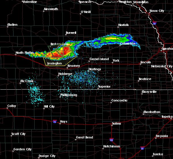 Radar Image for Severe Thunderstorms near Mason City, NE at 7/10/2020 5:40 PM CDT
