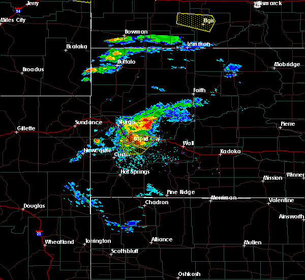 Radar Image for Severe Thunderstorms near Blackhawk, SD at 7/10/2020 4:46 PM MDT