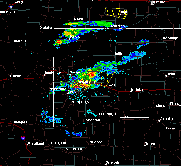 Radar Image for Severe Thunderstorms near Blackhawk, SD at 7/10/2020 4:59 PM MDT