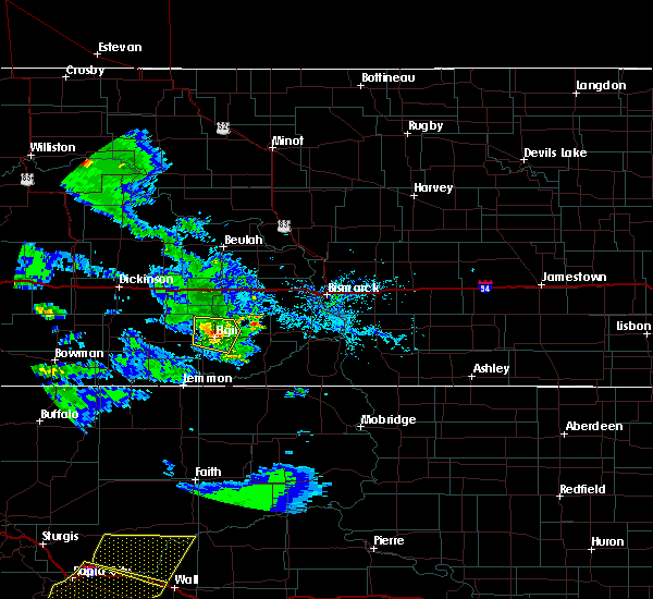 Radar Image for Severe Thunderstorms near New Leipzig, ND at 7/10/2020 5:04 PM MDT