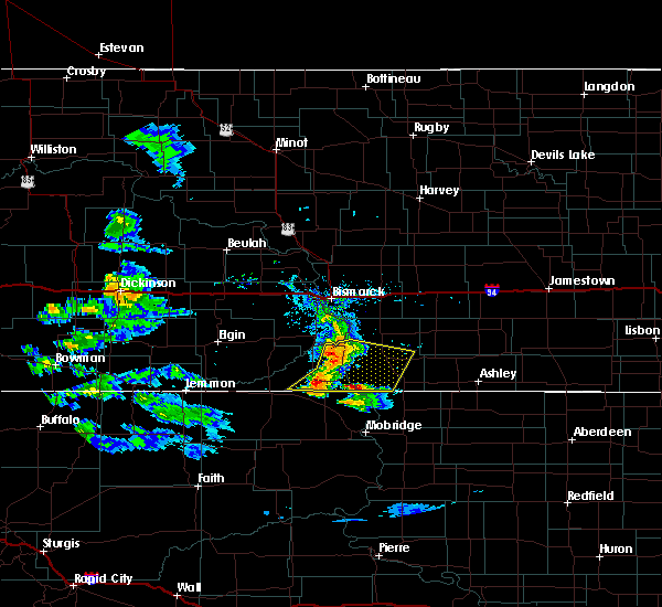 Radar Image for Severe Thunderstorms near Solen, ND at 7/10/2020 7:20 PM CDT